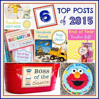 My Top 6 Posts of 2015