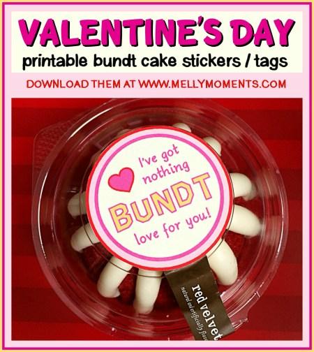 Valentines Day Stickers – Nothing BUNDT love!
