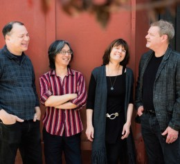 Ron Horton, Satoshi Takeishi, Maryanne de Prophetis, Frank Kimbrough. Photo by Marielle Solan.