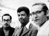 Bill Evans Trio: Eddie Gomex, Jack DeJohnette, Bill Evans. Photo by Giuseppe Pino.