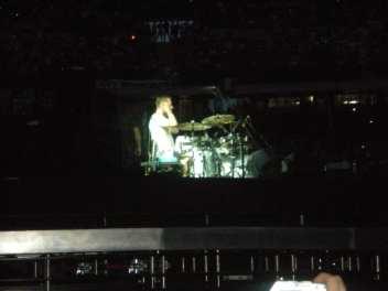 Larry Mullen - U2 360 Tour - Milano