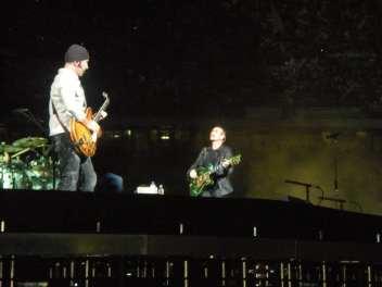 Bono Vox e The Edge - U2 360 Tour - Milano