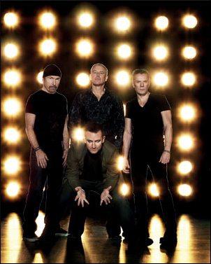 U2: ecco le date ufficiali del nuovo U2 360° Tour
