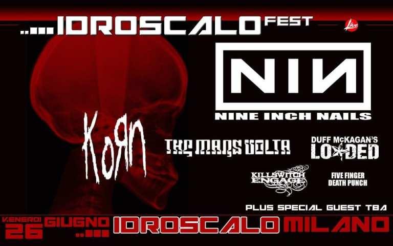Idroscalo Fest: il concerto dei NIN diventa un Festival