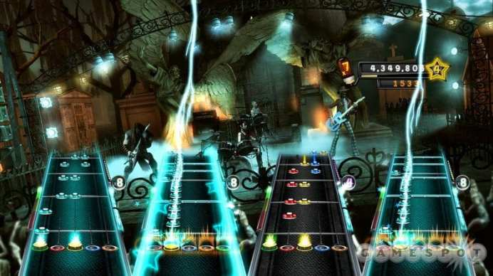 Guitar Hero 5 Screenhot 1