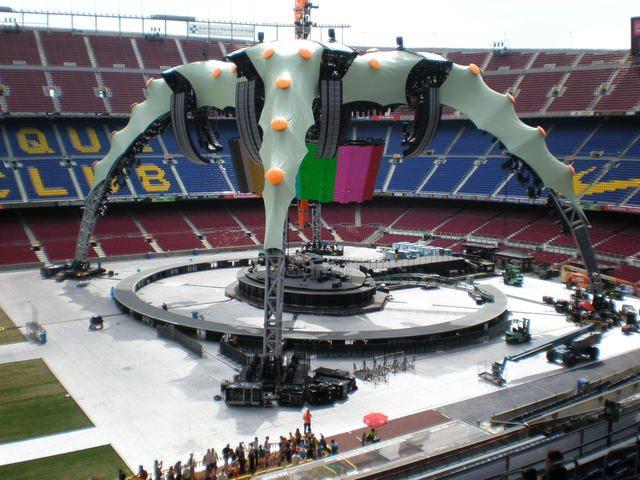 """U2: il 360 Tour vince il """"Best Stage Show"""""""