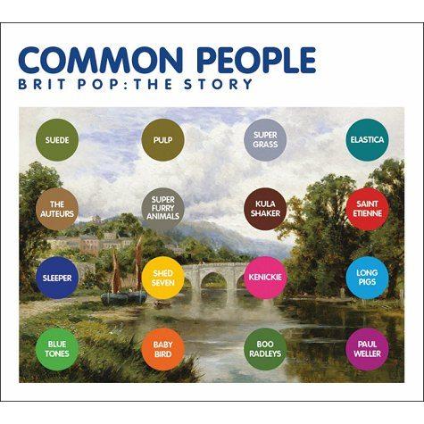 """Common people. The Britpop story"": una compilation con le più belle canzoni Britpop"