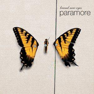 Paramore - Artwork della copertina di Brand New Eyes