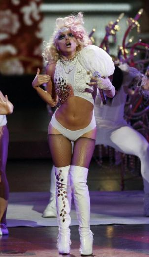 Lady Gaga agli Mtv Video Music Awards 2009 1