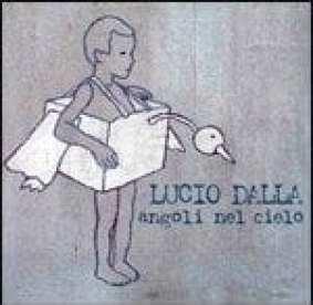 Lucio Dalla - Angoli nel cielo - Artwork