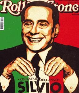 Silvio Berlusconi sulla Copertina di Rolling Stone