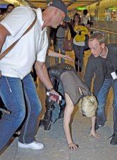 Lady GaGa atterra a Heathrow 2