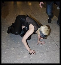 Lady GaGa atterra a Heathrow 4