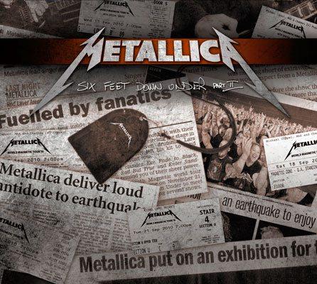 """Metallica:  """"Six Feet Down Under Part II"""" in uscita in Australia e Nuova Zelanda"""