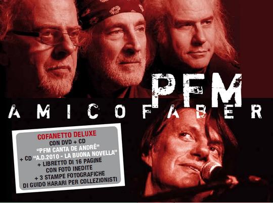 """La PFM pubblica """"Amico Faber""""per celebrare il compleanno di Fabrizio De André"""