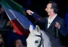 I video di Roberto Benigni a Sanremo