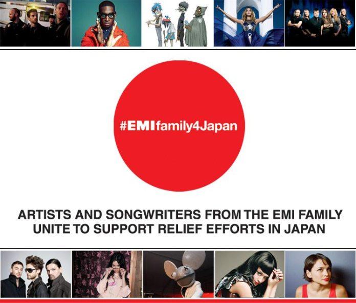 EMI Family 4 Japan, artisti uniti per benificenza