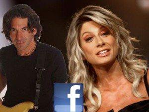 Maddalena Corvaglia sposa Stef Burns, storico chitarrista di Vasco Rossi