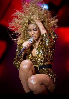 Performance di Beyoncé al Festival di Glastonbury