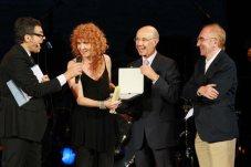 Premiazione a Fiorella Mannoia