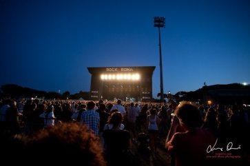 Il palco dei 30 Seconds To Mars al Rock in Roma