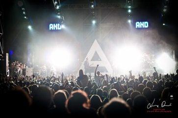 Performance dei 30 Second To Mars al Rock in Roma