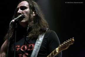 Manuel Agnelli suona al Rock in Roma