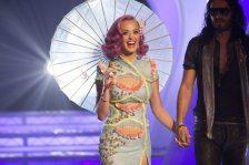 Katy Perry e il marito Russell brand