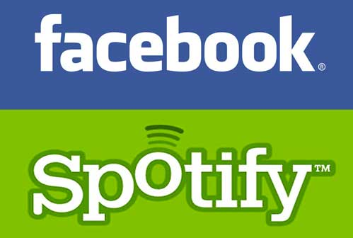 Musica da Facebook con Spotify