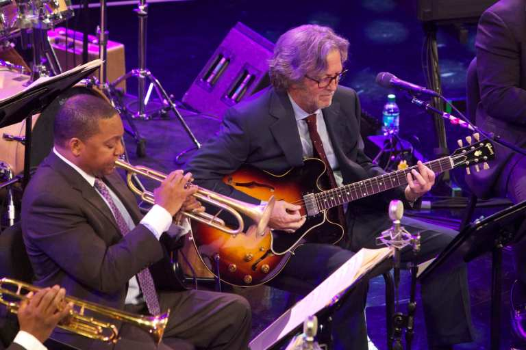 """Eric Clapton e Wynton Marsalis """"Play the blues"""""""