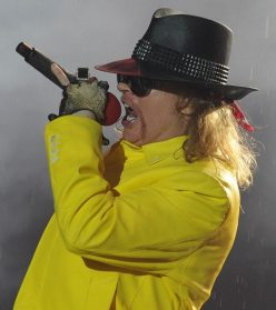 Axel Rose al Rock in Rio