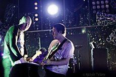 Jeff Schroeder e Billy Corgan   © Rachele Totaro