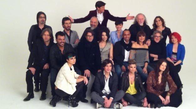Sanremo 2012, prima foto ufficiale: presente Chiara Civello, assenti Gigi D'Alessio e Loredana Bertè