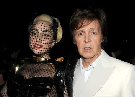 Lady GaGa e Paul Mc Cartney| © Larry Busacca / Getty Images