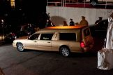 La salma di Whitney Houston arriva al Whigham Funeral Home | © Dipasupil/Getty Images