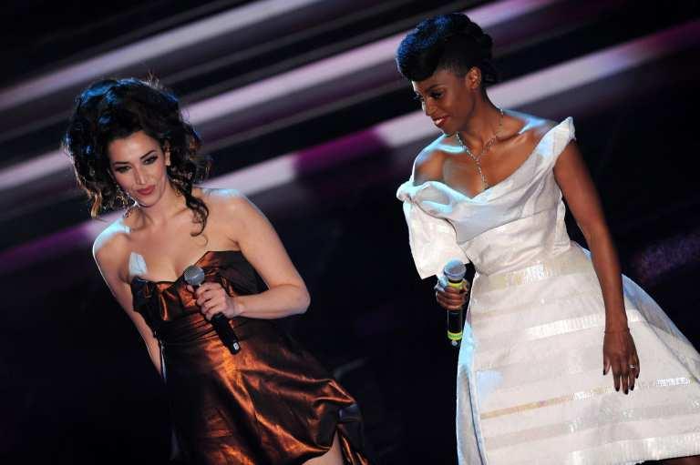 """Sanremo 2012: Nina Zilli e Skye dei Morcheeba """"Grande, Grande, Grande"""""""