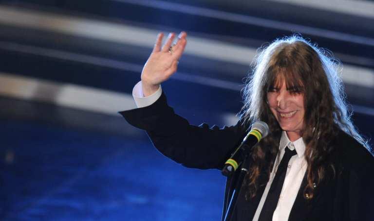 Sanremo 2012, standing ovation per Patti Smith e Marlene Kuntz