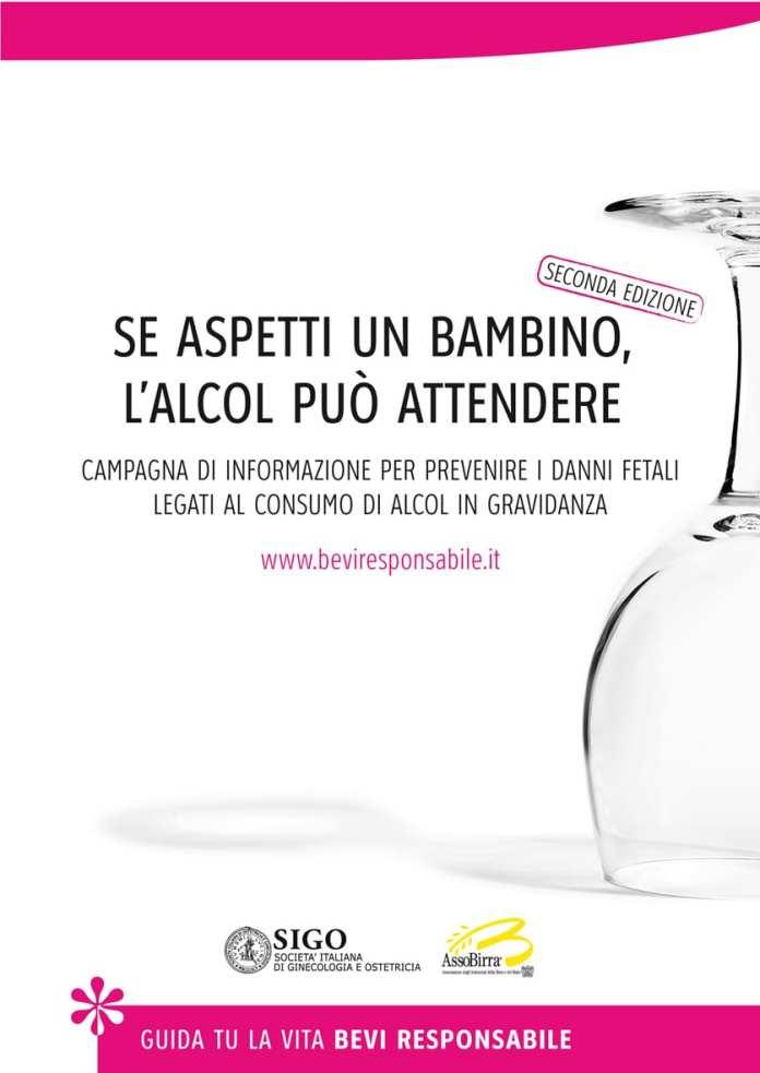 """MelodicaMente sostiene la campagna """"Se aspetti un bambino l'alcol può attendere"""""""