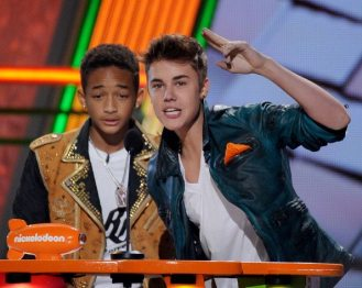 Jaden Smith e Justin Bieber | © Kevork Djansezian/Getty Images
