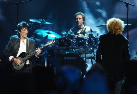 Ron Wood e Kenney Jones alla Rock And Roll Hall Of Fame Induction Ceremony | © Michael Loccisano/Getty Images
