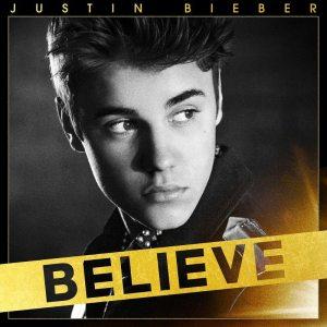 """Justin Bieber - """"Believe"""" - Artwork Versione Standard"""