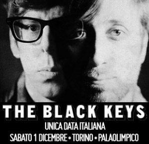 The Black Keys - Locandina Vivo Concerti