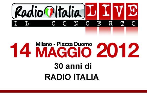 Radio Italia 30 anni in onda: dirette e concerto dal Duomo di Milano