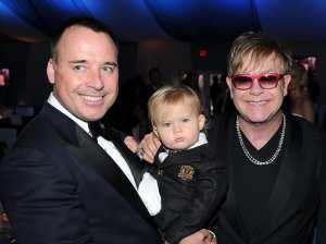 Elton John, David Furnish & Zachary
