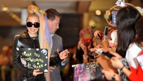 Il benvenuto a Lady Gaga