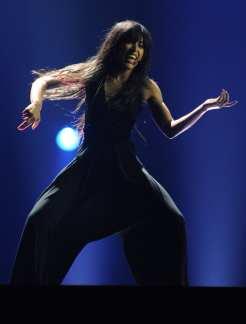 Performance Loreen - Svezia   © VYACHESLAV OSELEDKO/AFP/GettyImages