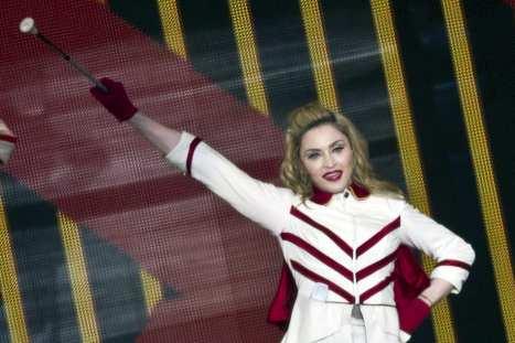 Madonna sul palco di Tel Aviv | © JACK GUEZ/AFP/GettyImages