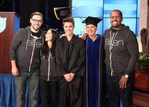 Justin Bieber - Ellen Show