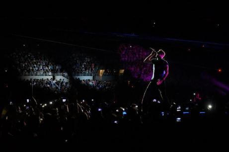 Live dei Colplay - Chris Martin | © Paolo Palladino