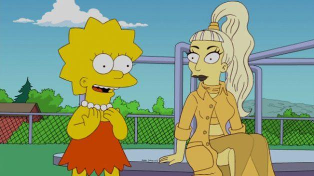 Brano inedito di Lady Gaga per i Simpson